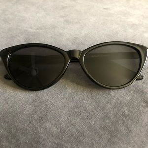 Aerie Meow Black Cateye Sunglasses